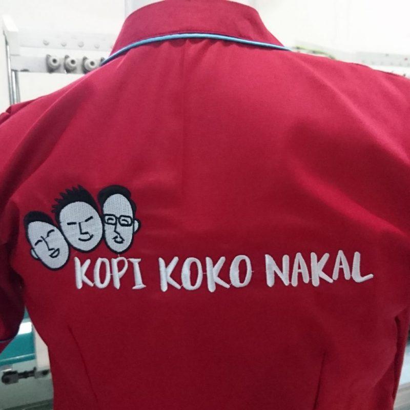 Bordir Kemeja Satuan Surabaya Terbaik 0822.4425.1122