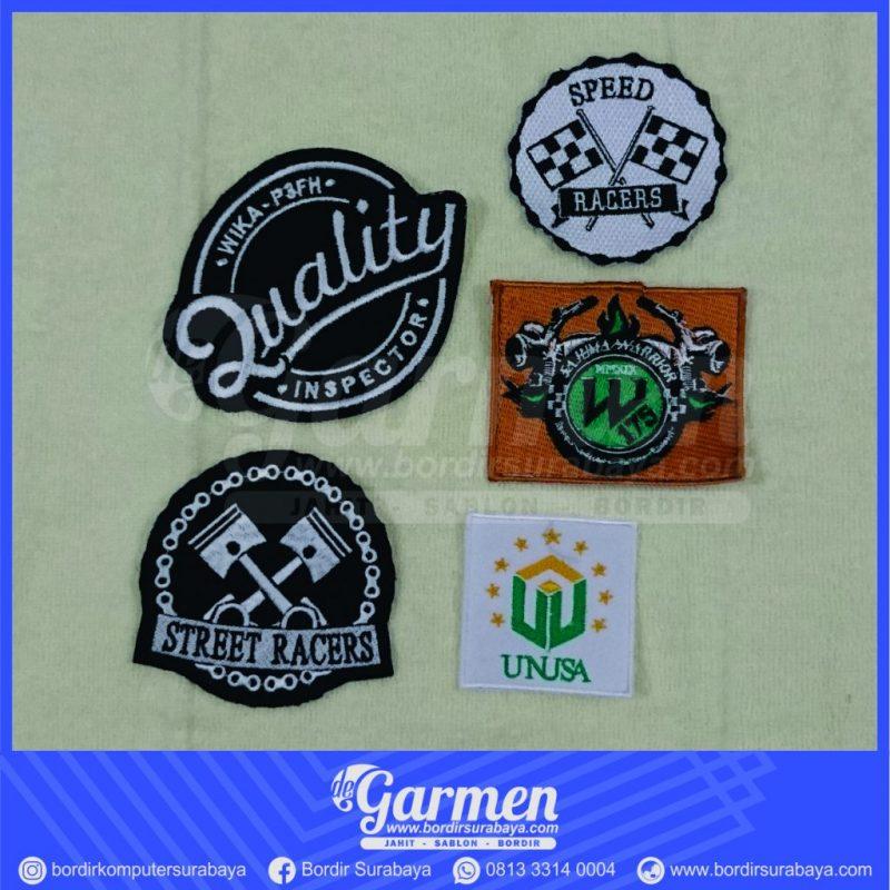 Bordir Logo Surabaya Terbaik 0822.4425.1122