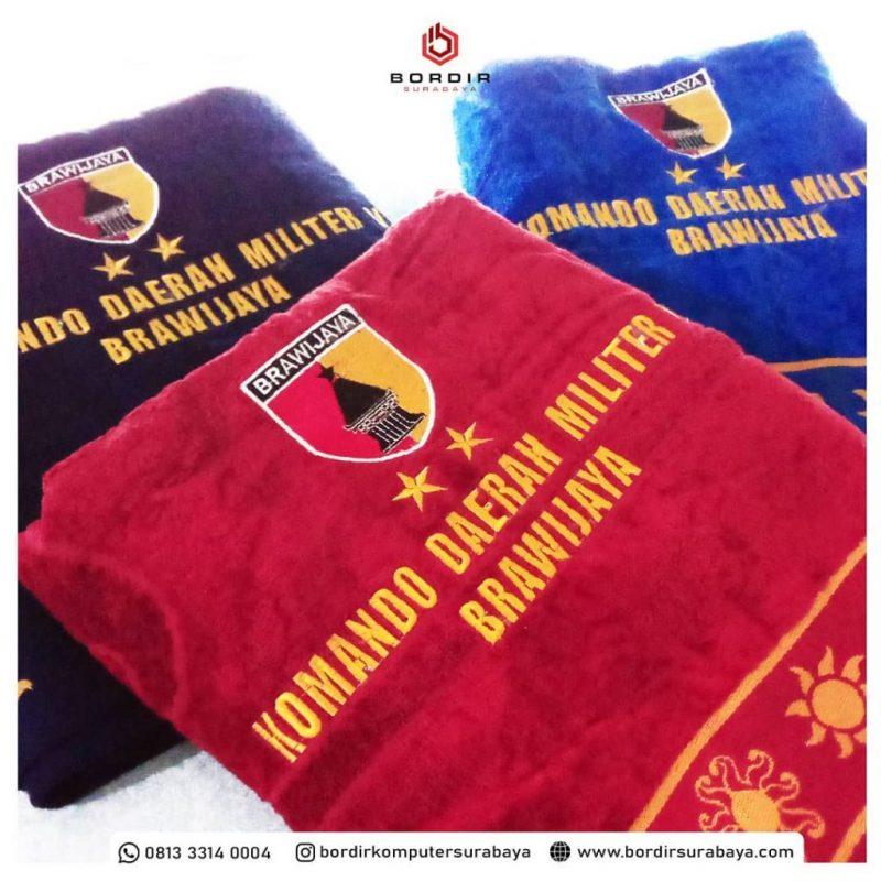 Bordir Handuk Surabaya Termurah 0813.3314.0004