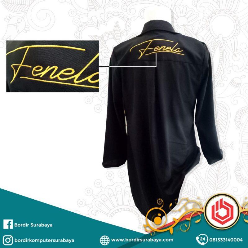 Bordir Baju Satuan Surabaya Terbaik 0822.4425.1122